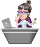 Margot the Hipster Pro - Desk