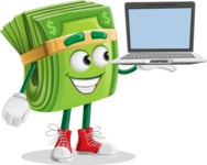 money character  - Laptop 3