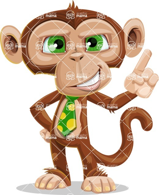 Bizzo the Business Monkey - Attention
