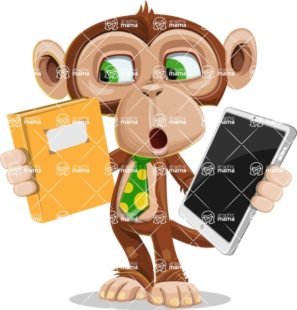 Bizzo the Business Monkey - Book and iPad