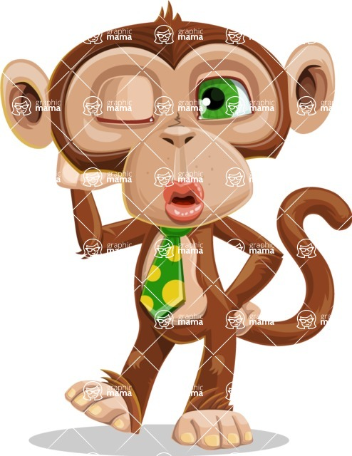 Bizzo the Business Monkey - Duckface