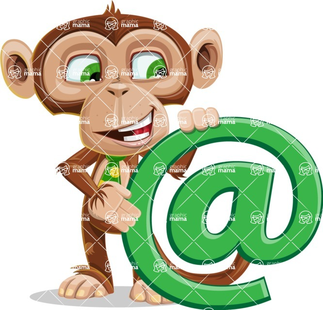 Bizzo the Business Monkey - Email