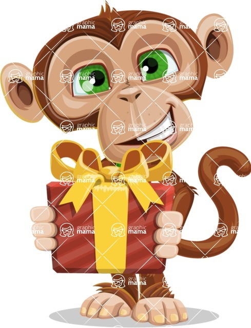 Bizzo the Business Monkey - Gift