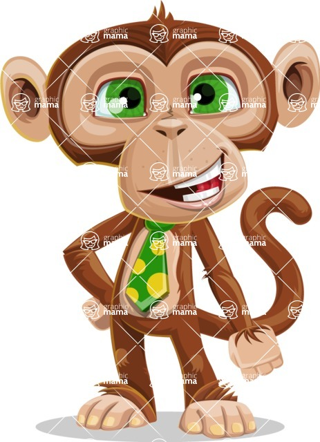 Bizzo the Business Monkey - Normal