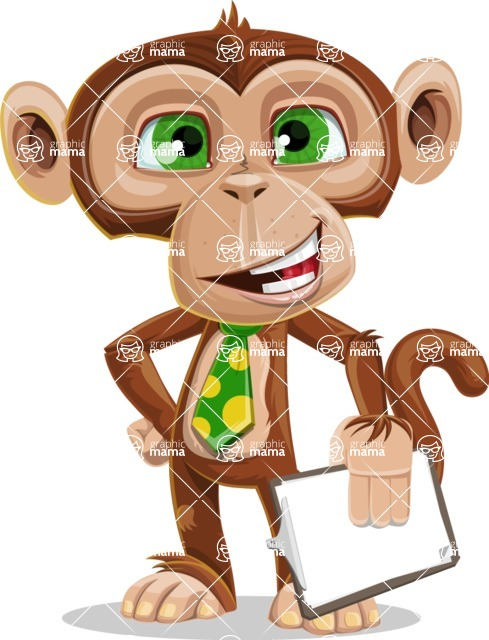 Bizzo the Business Monkey - Notepad 4