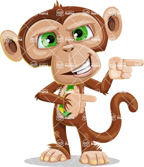 Bizzo the Business Monkey - Point 2