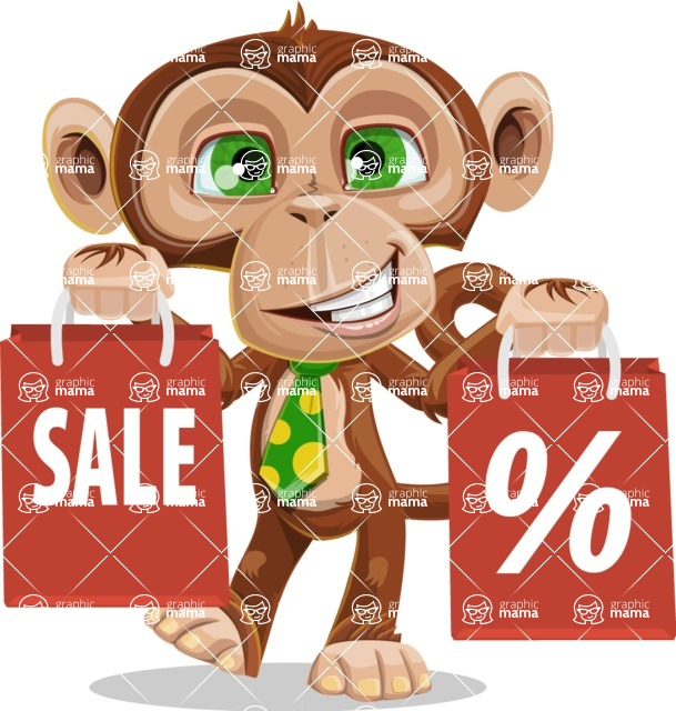 Bizzo the Business Monkey - Sale 2
