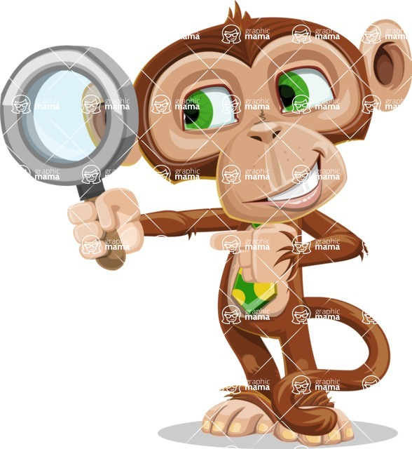 Bizzo the Business Monkey - Search