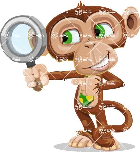 Ape Businessman Cartoon Vector Character AKA Bizzo - Search