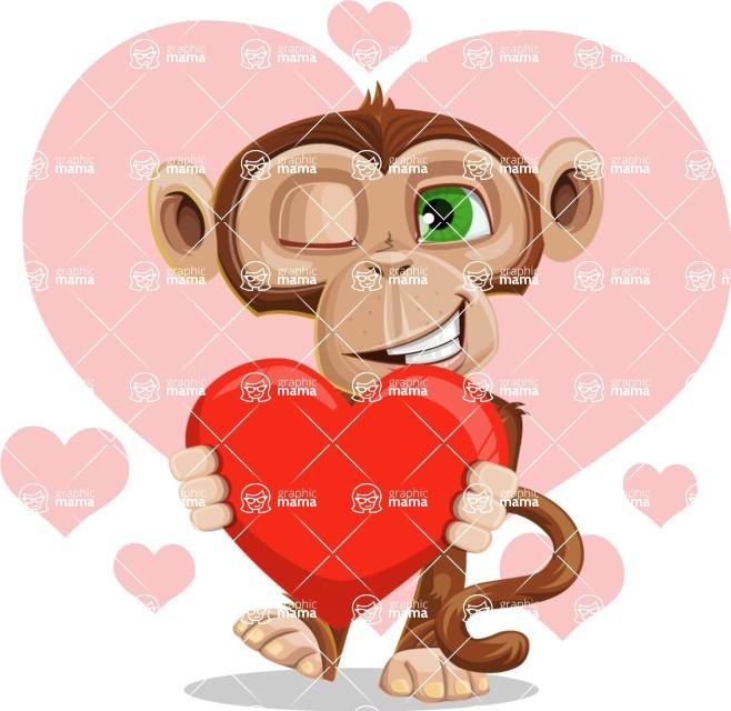 Bizzo the Business Monkey - Shape 11
