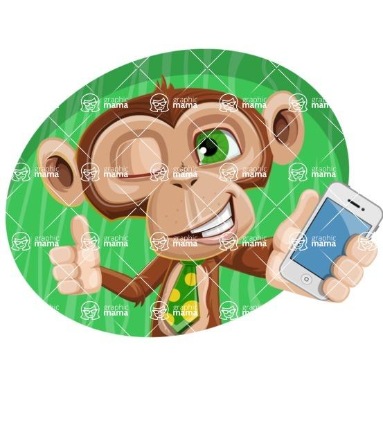 Bizzo the Business Monkey - Shape 4