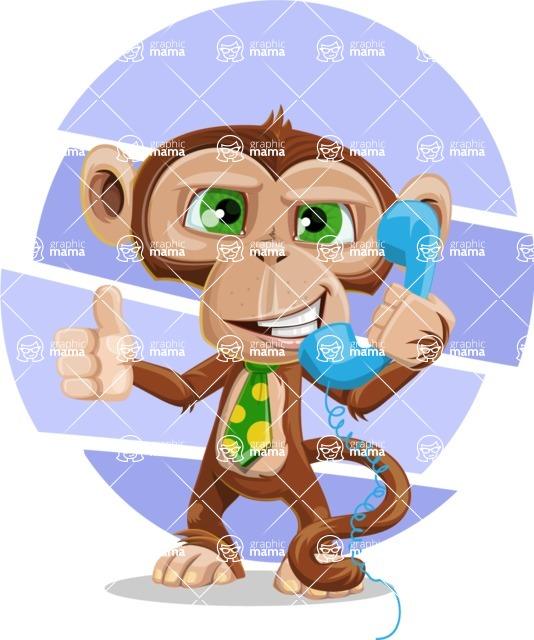 Bizzo the Business Monkey - Shape 9