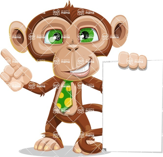 Bizzo the Business Monkey - Sign 2