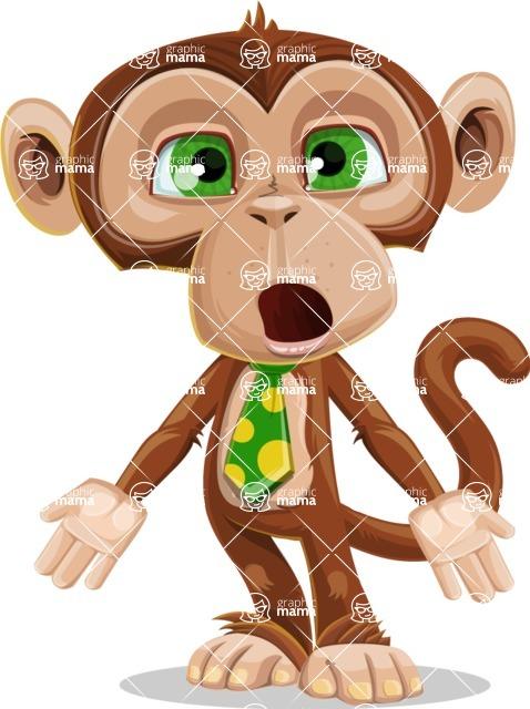 Bizzo the Business Monkey - Stunned
