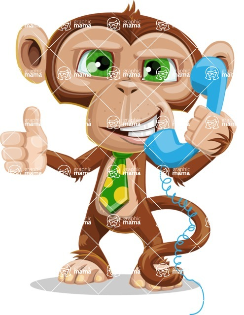 Bizzo the Business Monkey - Support