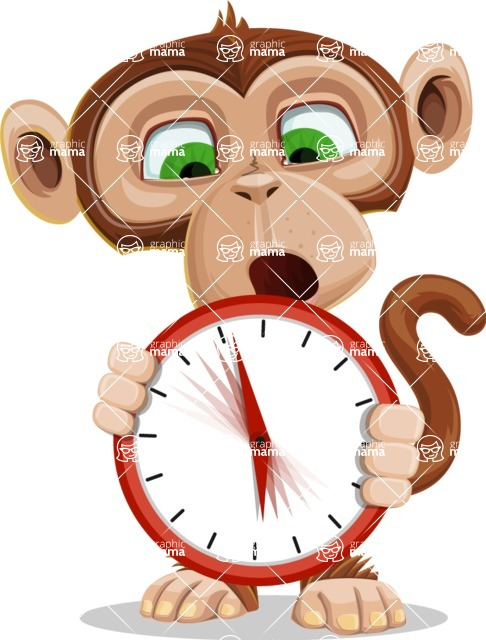 Bizzo the Business Monkey - Time is Yours