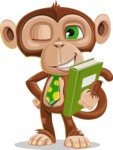 Ape Businessman Cartoon Vector Character AKA Bizzo - Book 3