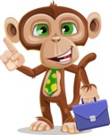 Bizzo the Business Monkey - Briefcase 2