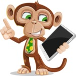 Bizzo the Business Monkey - iPad 3