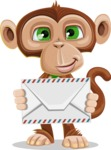 Bizzo the Business Monkey - Letter