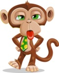 Bizzo the Business Monkey - Making Face