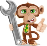 Bizzo the Business Monkey - Repair