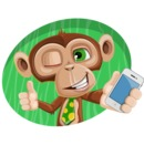 Bizzo the Business Monkey - Shape 4