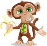 Ape Businessman Cartoon Vector Character AKA Bizzo - Show