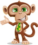Ape Businessman Cartoon Vector Character AKA Bizzo - Showcase 2