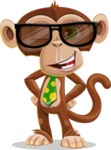 Bizzo the Business Monkey - Sunglasses