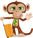 Bizzo the Business Monkey - Travel 1