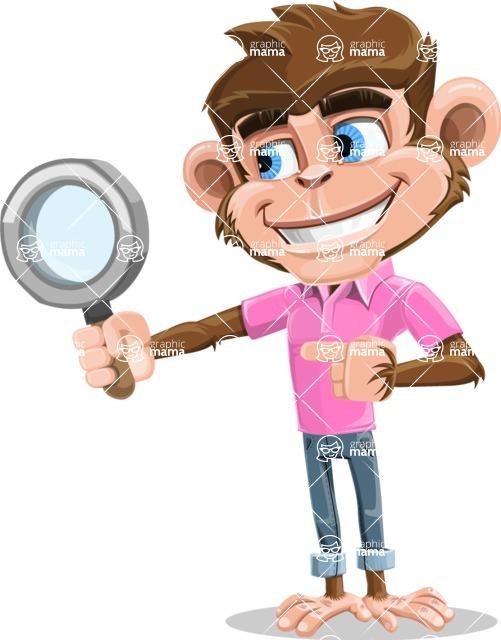 Ape Cartoon Vector Character AKA Dunc the Funky Monkey - Search