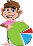 Ape Cartoon Vector Character AKA Dunc the Funky Monkey - Chart