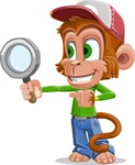 Cute Chimpanzee Monkey Vector Cartoon Character AKA Bo Nobo - Search