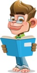 Business Monkey Cartoon Vector Character AKA Mr. Monkey Bananas - Book 1