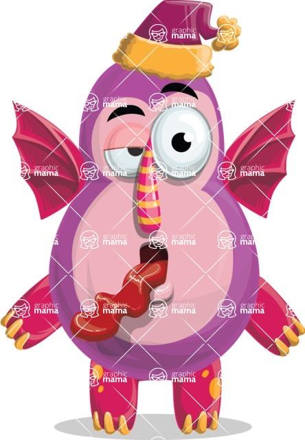 Monster Vector Cartoon Graphic Maker - Holiday monster