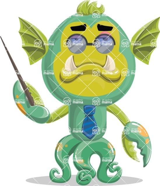Monster Vector Cartoon Graphic Maker - Director monster