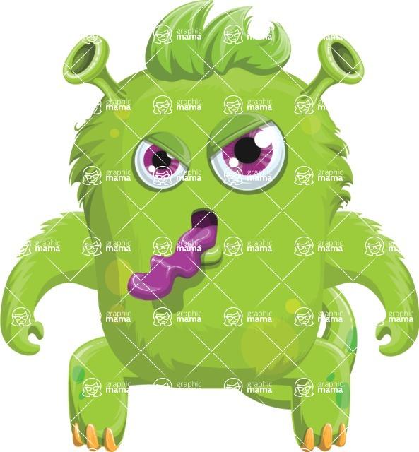 Monster Vector Cartoon Graphic Maker - Candid monster