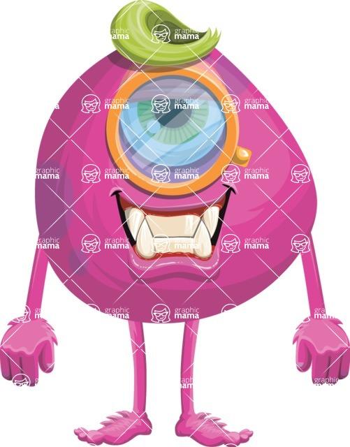 Monster Vector Cartoon Graphic Maker - Content monster