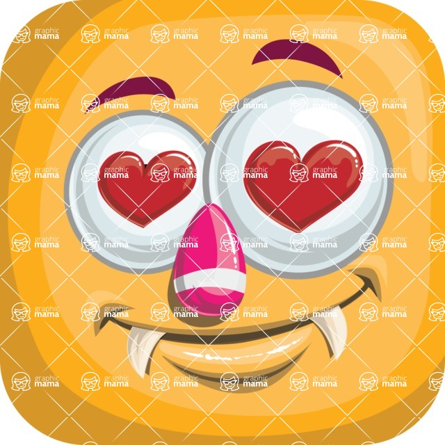 Monster Vector Cartoon Graphic Maker - Monster avatar in love