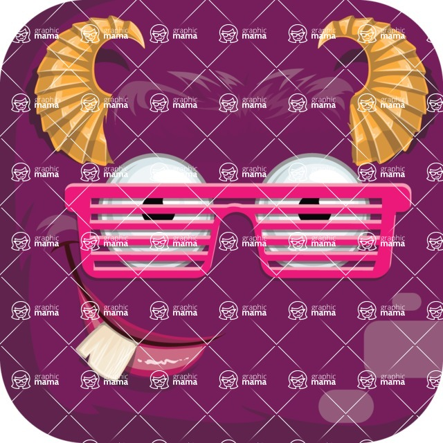 Monster Vector Cartoon Graphic Maker - Party monster avatar