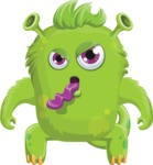 Monster Vector Cartoon Graphic Maker - Candid monster