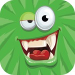 Monster Vector Cartoon Graphic Maker - Green monster avatar
