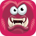 Vector Monster Mania - Angry monster avatar
