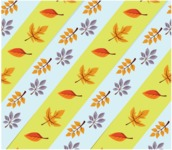Nature Backgrounds, Patterns and Frames Themed Graphic Collection - Autumn Flower Leaves Background