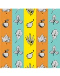 Nature Backgrounds, Patterns and Frames Themed Graphic Collection - Fruits and Leaves Nature Pattern