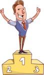 Cartoon Teacher Vector Character - Best Teacher