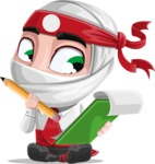 Yoshiro The Little Business Ninja - Note 2