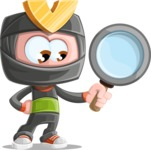 Cute Ninja Cartoon Vector Character AKA Arata - Search