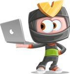 Arata The Little Boy Ninja - Laptop 2